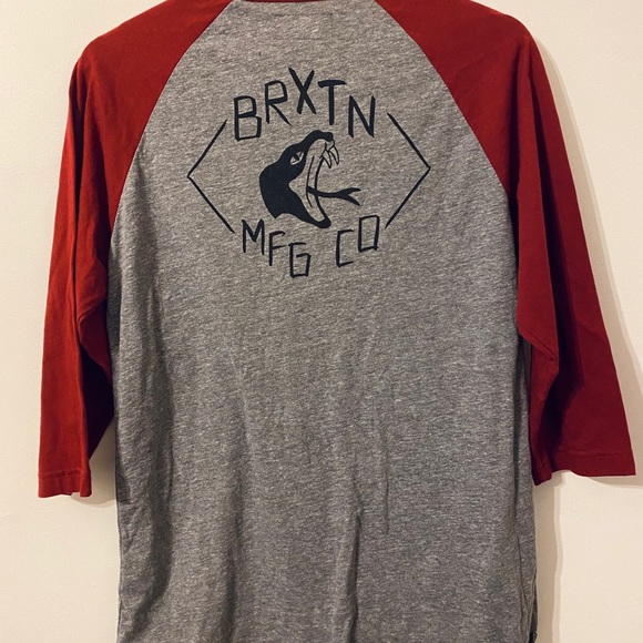 Other - Brixton Red Baseball Tee